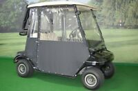 Electric Golf Cart with Custom All Weather Enclosure