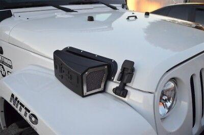 Injen Ram Air Scoop for Evolution Intake for 07-16 Jeep Wrangler JK V6 3.6L