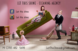 We would be happy to clean for you:) Domestic and office cleaning services!