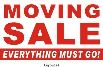 Moving Sale-EVERYTHING Must GO!!!!