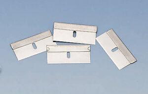 100 New Single Edge Razor Window Screen Scraper Blades Safety Blades Oven Clean