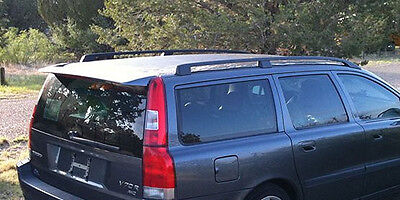 Volvo V70t5 - Volvo  V70, V70R, V70 T5 Roof Rack Euro Rails 01-07; instructions included!