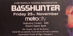 BassHunter tickets on sale Now!! -$80 each Gosnells Gosnells Area Preview