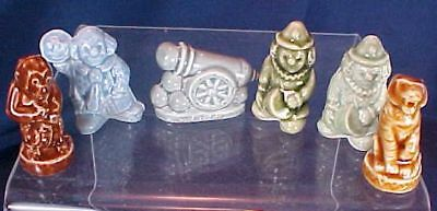 6 Wade Eng Figurines Whimsy Clowns Cannon Monkey Tiger for sale  Westerville