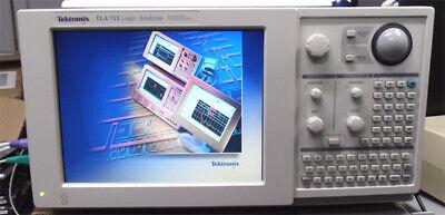 Tektronix Tla715 Duo Monitor Logic Analyzer 2tla7aa4ds Modules Duo Monitor