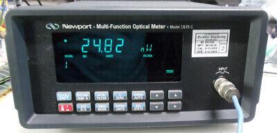 Newport 1835-c -n1 Optical Power Meter In Working Condition