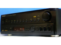 PIONEER VSX-804RDS A/V STEREO RECEIVER / AMPLIFIER + SHARP STEREO SPEAKERS