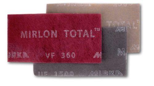 Mirka  Mirlon Total Schleifvlies Handpads 115 x 230 mm 25 Stück Körnung wählbar