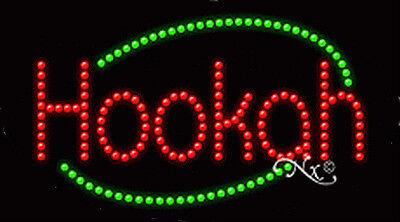 New Hookah Border 27x15 Oval Solidanimated Led Sign Wcustom Options 24591