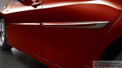 GENUINE TOYOTA PRIUS 2016 - 2017 BODY SIDE MOLDINGS (CODE 1F7) PT938-47160-01 Prius Body Side Moldings