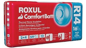 ROXUL ComfortBatt R14 Insulation