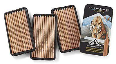 Prismacolor Premier Water-Soluble Colored Pencils, 36-Count