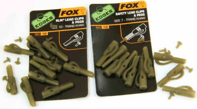 Fox Safety Lead Clips - Fox Edges Safety Lead Clips And Pegs, Size 7