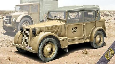 Ace 1/72 Italian Light Military Vehicle 508 CM Coloniale # 72548