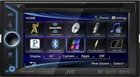 JVC KW-V20 Double Din Multimedia Car DVD/CD Reciever Wi