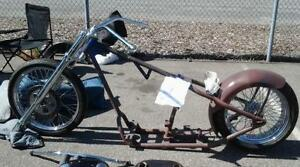 harley chopper frame - Mini Chopper Frame