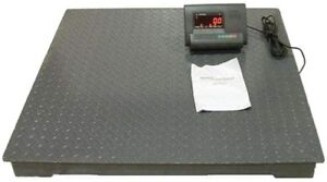 Floor scale warehouse scale pallet scale skids shipping scale