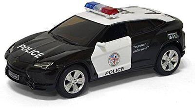 1 38 Scale Kinsmart Diecast Lamborghini Urus Police Suv Diecast Model Toy Cop 5