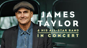 JAMES TAYLOR and his all star band (2 billets) sous le prix payé