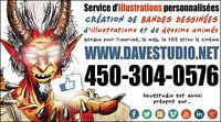 Service d'illustrations et animations 2D personnalisées.