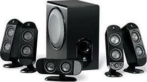 Logitech X-530 5.1 Channel Speaker System 70W RMS