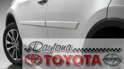 2013 - 2017 RAV4 4T3 PYRITE MICA PAINTED BODY SIDE  MOLDINGS PT938-42130-04 for sale  USA