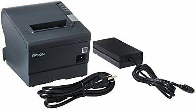 Epson Tm-t88v M244a Pos Thermal Receipt Printer W Pwr Supply Free Ship New