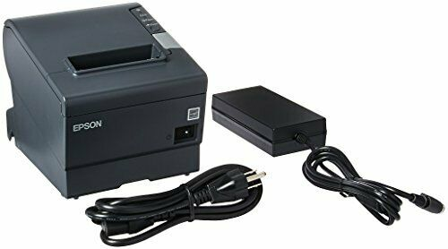 EPSON TM-T88V M244A POS THERMAL RECEIPT PRINTER W/ PWR SUPPLY FREE SHIP **NEW*