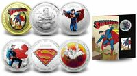 2013 Superman 75th Anniversary Complete Coin Set