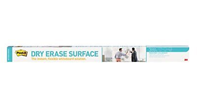 Post-it Dry Erase Surface - 48 X 96 White Film - 1 Pack Def8x4