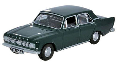 Ford Zephyr Oxford Diecast UK OO 1/76 Goodwood Green 76ZEP009 British
