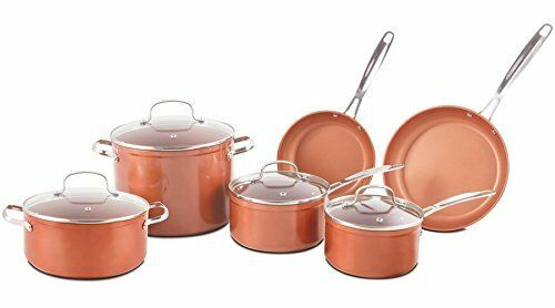 Nuwave Duralon Ceramic Non-Stick 10 pc. Cookware Set