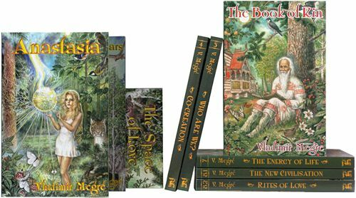 NEW Anastasia Vladimir Megre Ringing Cedars of Russia Series Full Set!