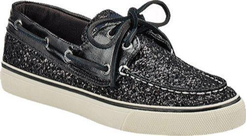 Sperry Black Glitter Clothing Shoes Amp Accessories Ebay