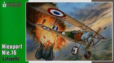 Special Hobby 1/32 Nieuport Nie.16 Lafayette # 32030