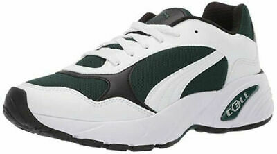 PUMA CELL VIPER LOW TRAINERS SPORTS SNEAKERS MEN SHOES WHITE/PINE SIZE 10 NEW