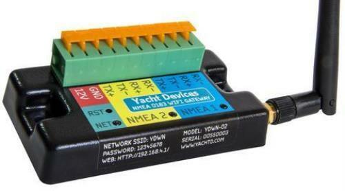 NMEA 0183 WiFi Gateway