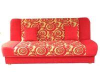 Sofa Bed COUCH SETTEE storage bonell springs mattress polskie wersalki