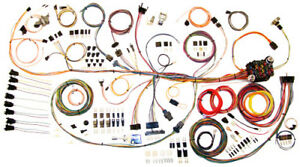 1964-67 PONTIAC GTO CLASSIC UPDATE AMERICAN AUTOWIRE WIRING HARNESS KIT 510188