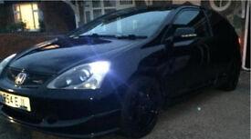 Honda Civic type R ep3 nighthawk black facelift model FSH