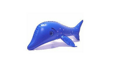 Inflatable Dolphin Pool Toy Party Favor Game Swimming Learn
