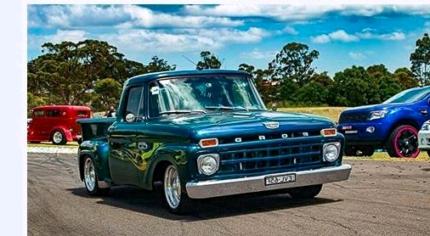 Hotrod Ford F100 custom