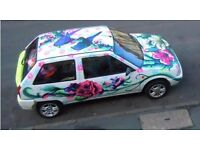 CITROEN AX - car with character; beautifully decorated just needs MOT