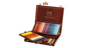 Caran D'ache Supracolor Watercolour Pencil 120 Colour Wooden Box Set