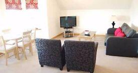 1 Bedroom Top Floor Apartment with sea views in Lossiemouth