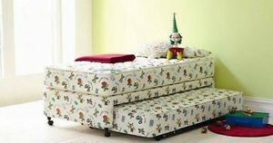 Simplee kidz single bed frame and trundle mattress Meadowbank Ryde Area Preview