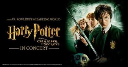 Harry Potter and the chamber of secrets live in concert