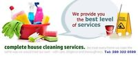 Flexible Cleaning lady  GTA 289-322-0599