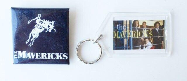 The Mavericks Promotional Pin & Keychain