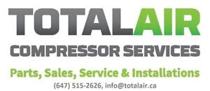 Industrial Air Compressor Service and Sales